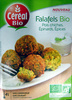 Falafels Pois chiches, Epinards, Epices Céréal Bio - Product