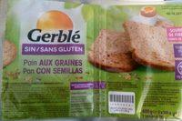 pain aux graines sans gluten - Product