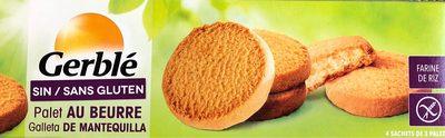 Palet au beurre - sans gluten - Product