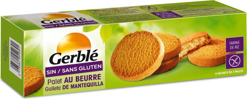 Biscuit Palet beurre ss gluten - Prodotto - fr