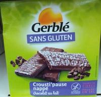 Crousti'pause nappé chocolat au lait - Product