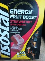 Energy fruit boost Isostar - Product