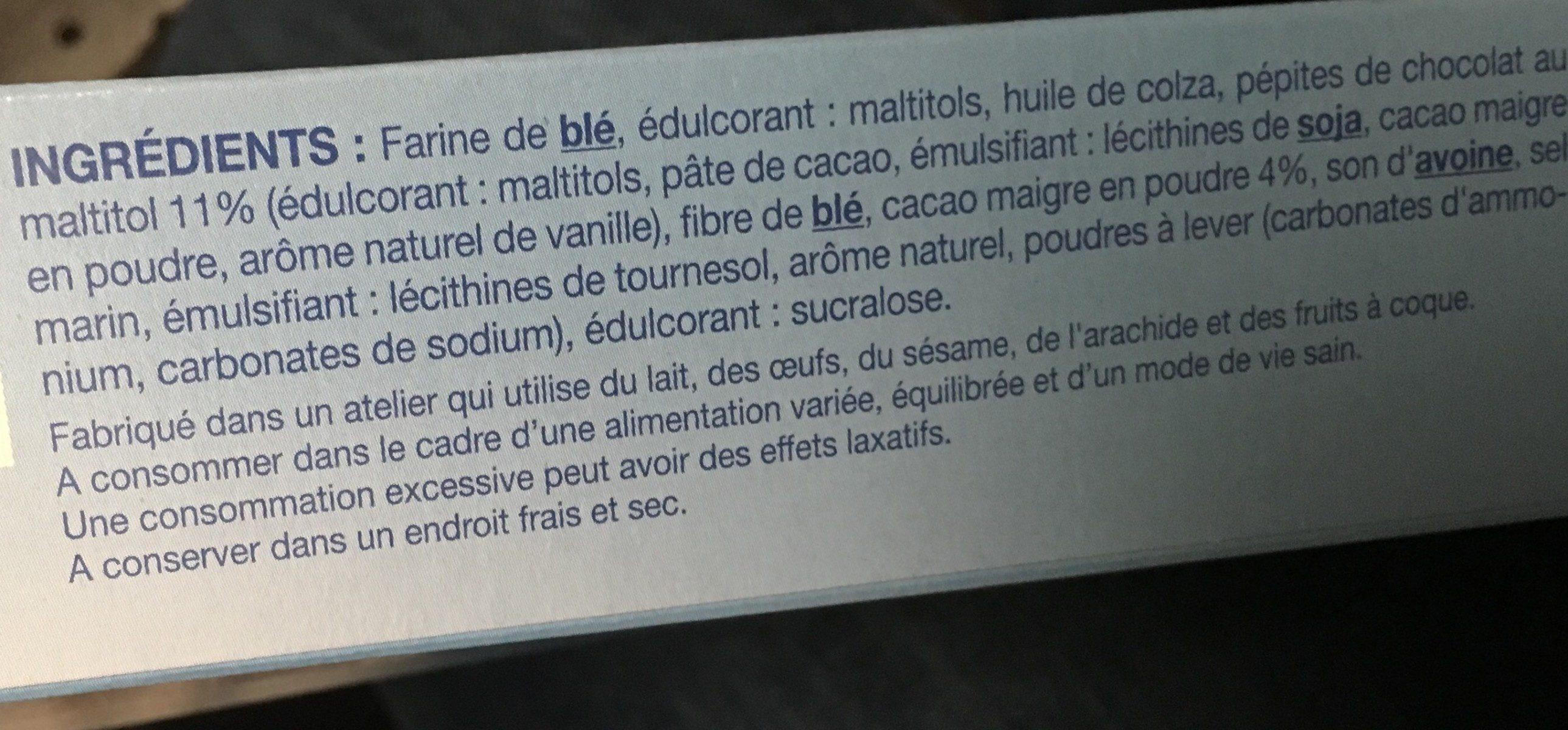 Cookie cacao pépites - Ingrediënten