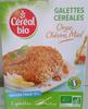 Céréal Bio - Galettes Céréales Orge, chèvre et miel - Produit