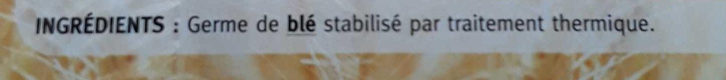 Germe de blé - Ingredients - fr