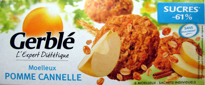 Moelleux pomme cannelle Gerblé - Produit - fr