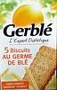 5 biscuits au germe de blé - Produit