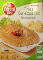 Fine Galettes Bio - Emmental - Product