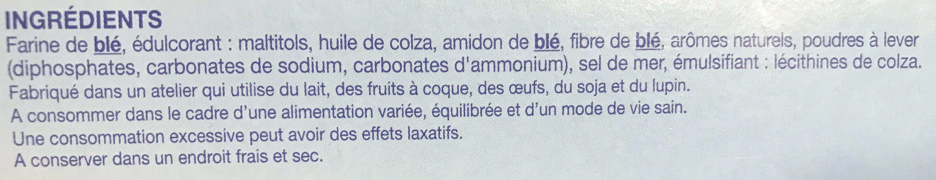 Biscuit Coco - Ingrédients