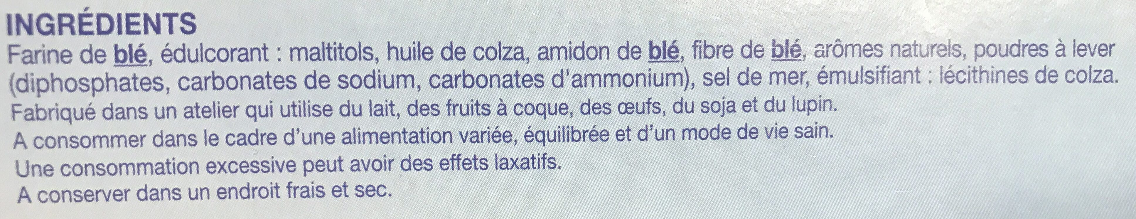 Biscuit Coco - Ingrediënten - fr