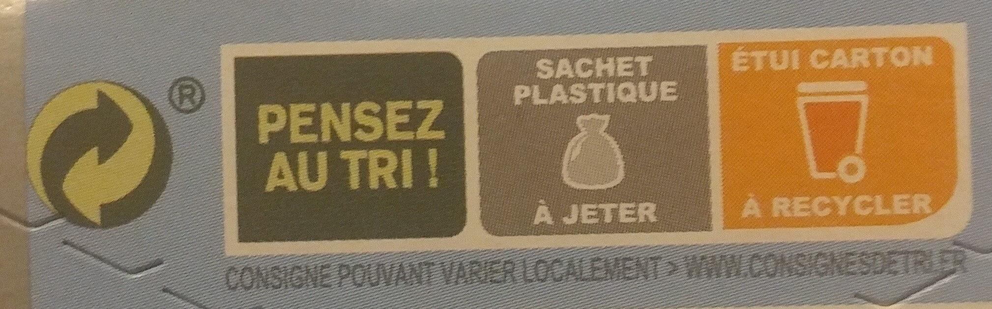 Biscuit Coco - Instruction de recyclage et/ou informations d'emballage - fr