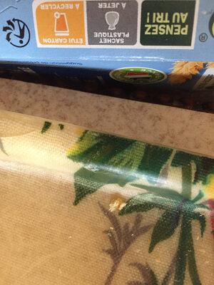 Biscuit sésame saveur vanille - Instruction de recyclage et/ou informations d'emballage - fr