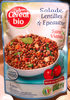 Salade de lentilles, épeautre, tofu et petits légumes Bio - Product