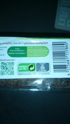 Pain complet de seigle aux flocons d'avoine et graines de lin - Istruzioni per il riciclaggio e/o informazioni sull'imballaggio - fr