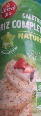 Galette de riz complet nature - Product - fr