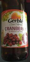 Cranberry et sélection de fruits - Produit - fr