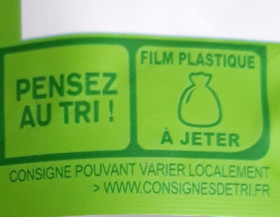 Orge, lentilles vertes, riz rouge au naturel - Recycling instructions and/or packaging information - fr