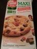 Maxi Cookies Bio Chocolat au lait et cranberries - Produit