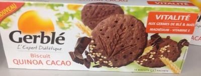 Biscuit quinoa cacao - Product