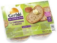 Pain campagnard Gerblé sans gluten - Produit - fr