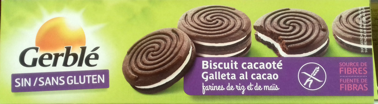 Biscuit cacaoté - Producto - fr