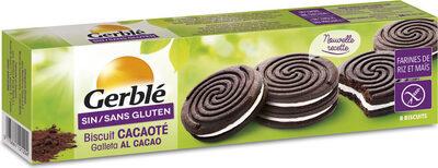 Biscuit cacaoté sans gluten - Product - fr