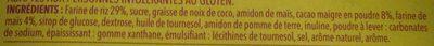 Biscuit Cacaotés - Ingredients