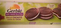 Biscuit cacaoté sans gluten - Nutrition facts - fr