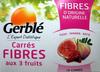 Carrés fibre aux 3 fruits Gerblé - Product