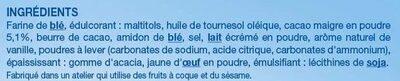 Fourré Cacao - Ingrediënten - fr