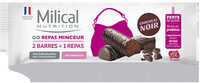 Milical Go -  Barres Repas chocolat - Product