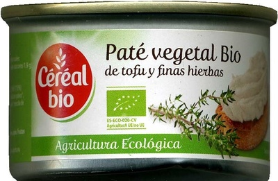 Pate vegetal bio - Producte - es