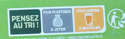 Les galettes orge et boulgour au chèvre et miel - Recycling instructions and/or packaging information - fr