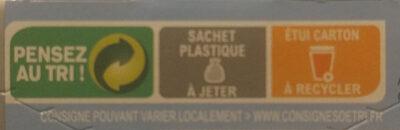 Sablé saveur Citron Yuzu au Maltitol - Istruzioni per il riciclaggio e/o informazioni sull'imballaggio - fr