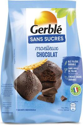 Moelleux tout chocolat Sans Sucres - Produit - fr