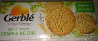 Sablé Nature Graines de Chia - Product - fr