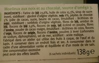 Moelleux chocolat et noix - Ingrediënten