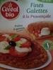Fines galettes à la provençale - Produit
