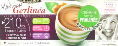 Mon repas Gerlinéa, crèmes saveur pralinée - Produkt - fr