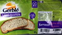 pain au sarrasin - Product