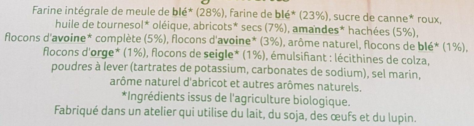 Palets de céréales a l'avoine - Ingrédients - fr