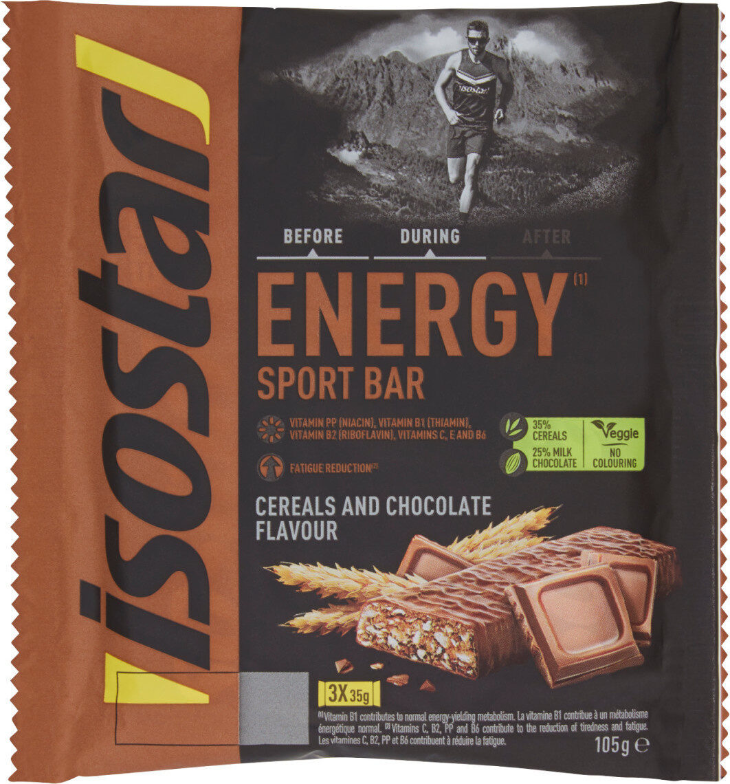 Energy sport ba cereals and chocolate flavou - Product - fr