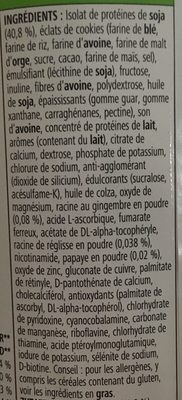 Boisson nutritionnelle - Ingredients - fr