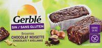 Brownies Chocolat Noisette - Produit - fr