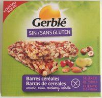 Barres céréales Sin / Sans gluten - Product