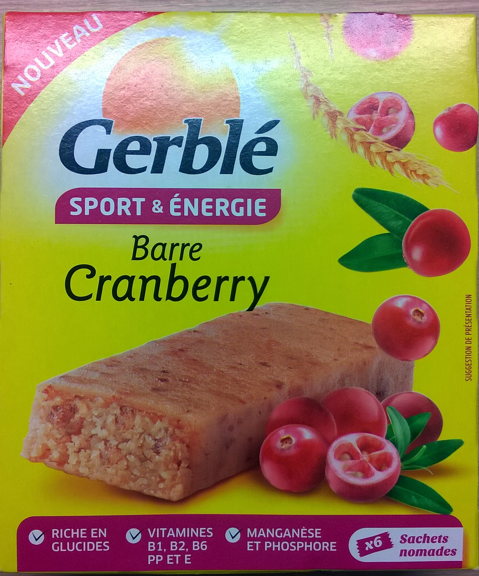 Barre Cranberry - Produit - fr