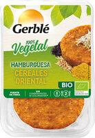 Hamburguesa vegetal de cereales orientales ecológica - Producte - es