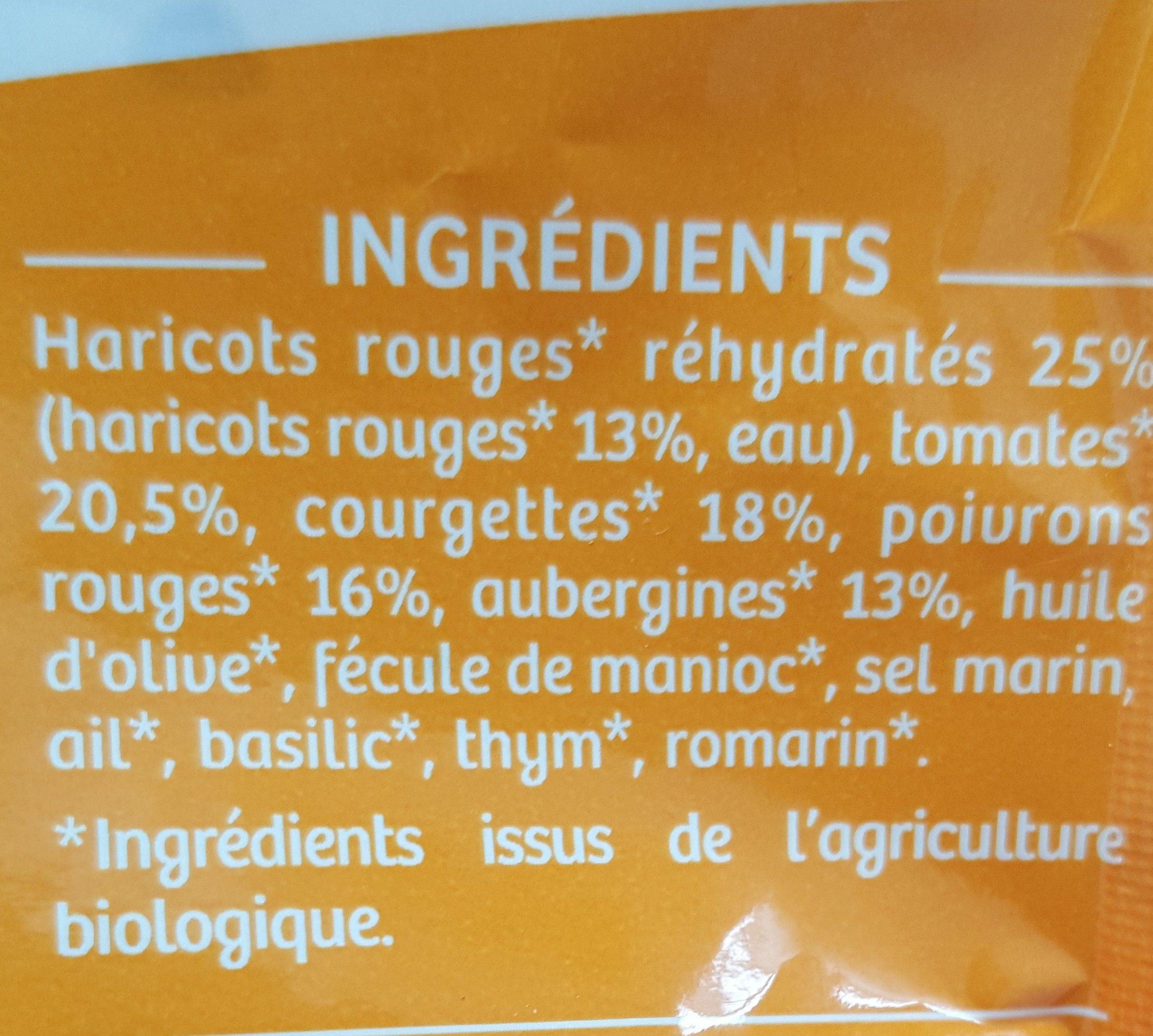 Légumes mijotés - Ingrédients - fr