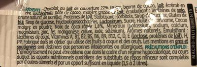 Barre Minceur Saveur Chocolat Coco - Ingrédients - fr