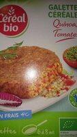 Galettes céréales Quinoa, Tomates - Prodotto - fr